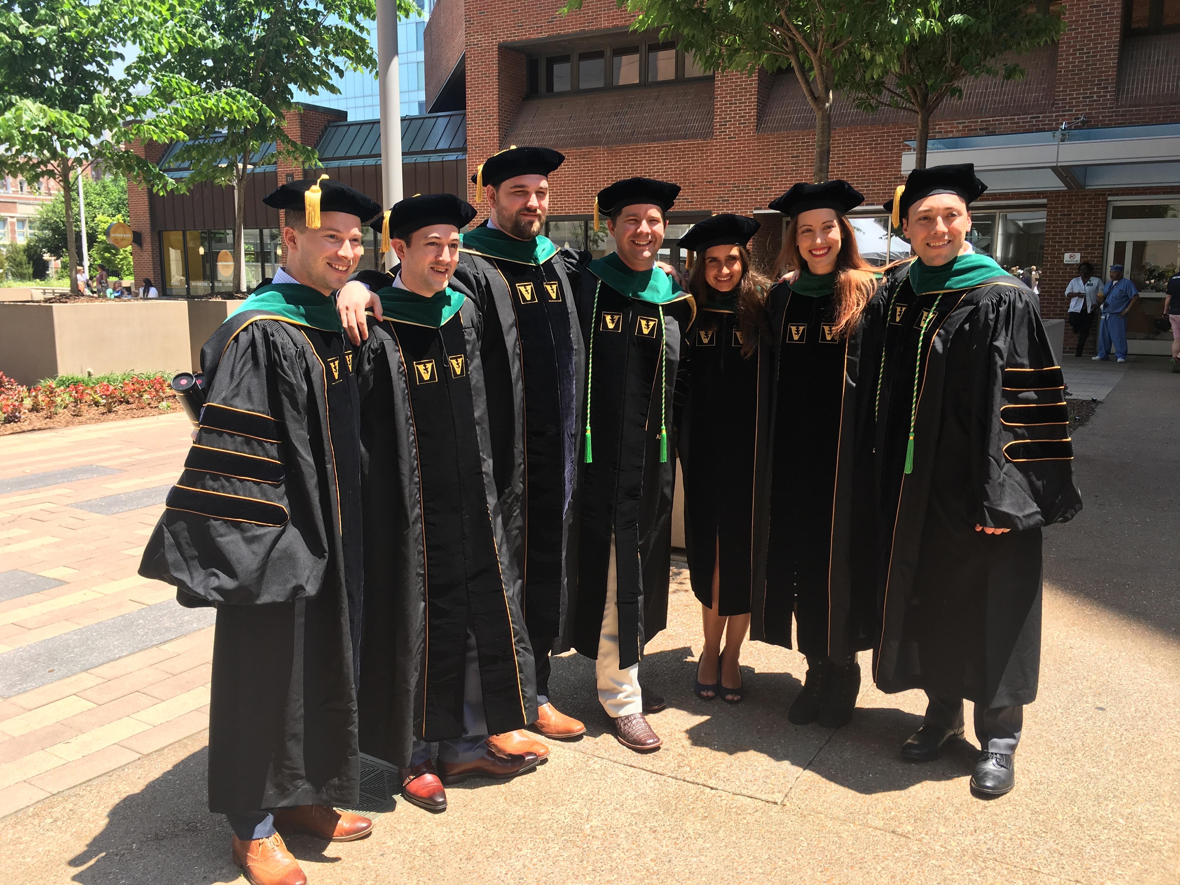 Words of Wisdom from the Vanderbilt MSTP 2018 Graduating