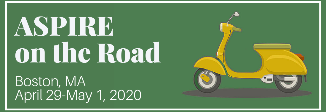 ASPIRE on the Road 2020 is here!