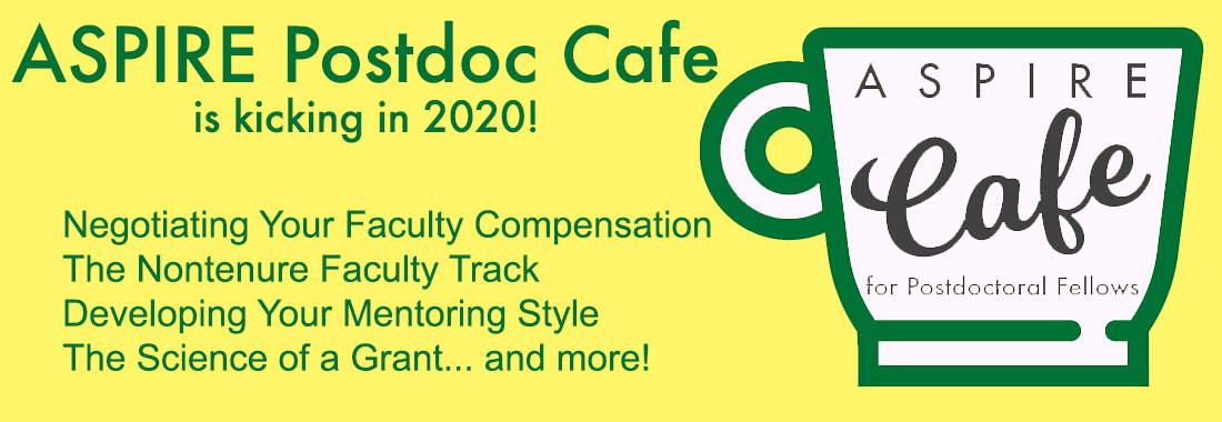 ASPIRE Cafe for Postdoctoral Fellows