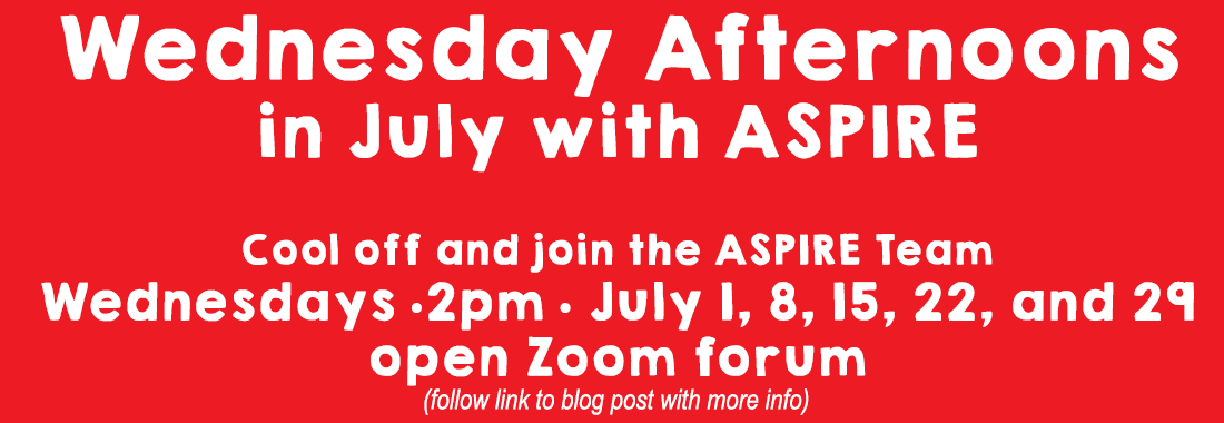 Wednesday Afternoons with ASPIRE