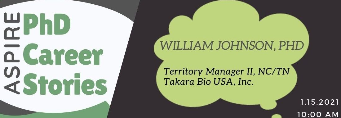 PhD Career Stories: William Johnson, PhD