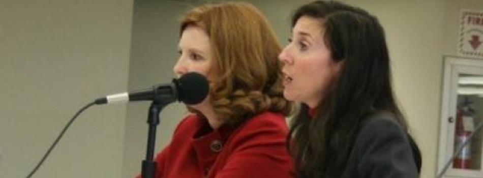 Shari Barkin and Health Commissioner Susan Cooper testify on obesity