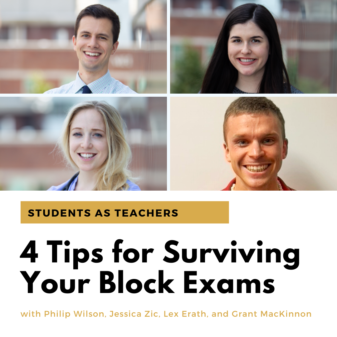 4 Tips for Surviving Your Block Exams