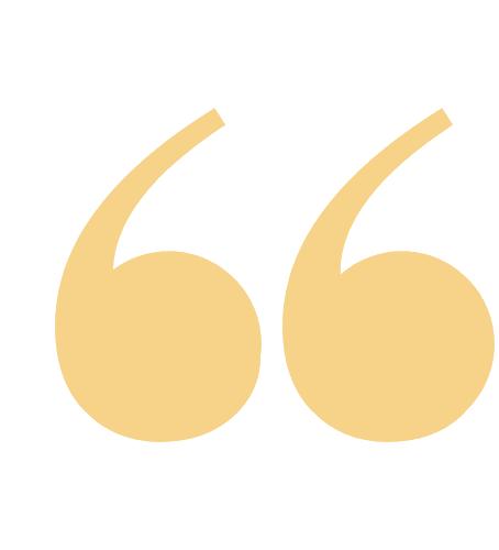 gold quotation mark