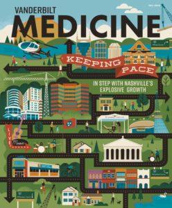 Vanderbilt Medicine Magazine Cover