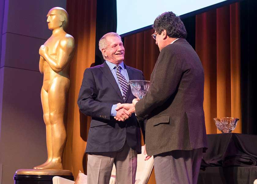 Dennis Spann, Chancellor Nicholas S. Zeppos
