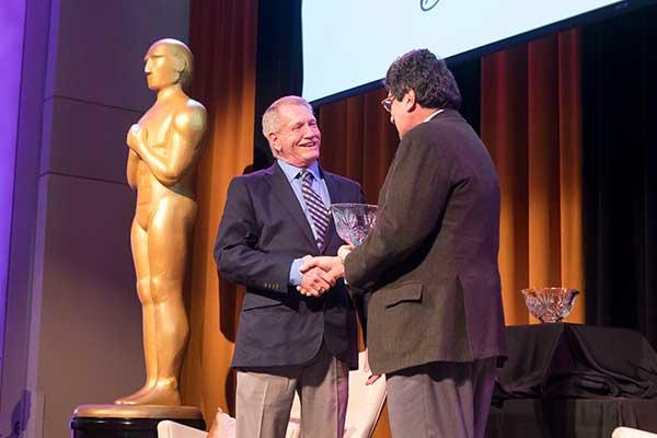 VUSN's Dennis Spann awarded Vanderbilt's prestigious Commodore Award