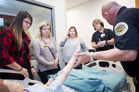Metro Nashville Police CSI teaches Vanderbilt SANE students