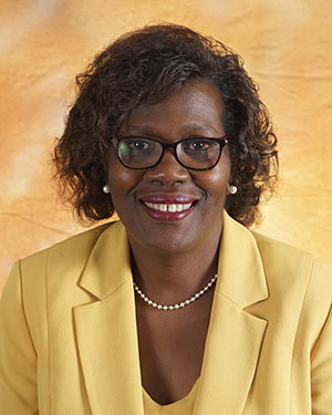 Assistant Dean Rolanda Johnson