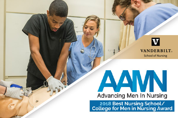 School of Nursing named AAMN Best School for Men