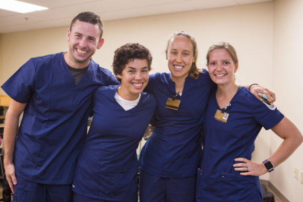 Faculty involvement and interest help draw incoming Vanderbilt Nursing students