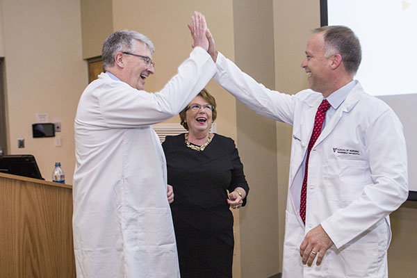 School of Nursing recognizes faculty, staff, colleagues and honorary nurses