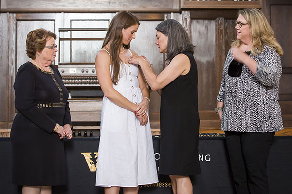Nursing Pinning ceremony marks program completion