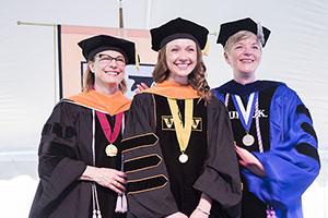 Terri Allison, Brenna Gillis, Mavis Schorn