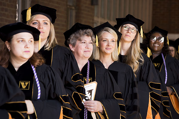 School of Nursing awards record number of DNPs during Commencement