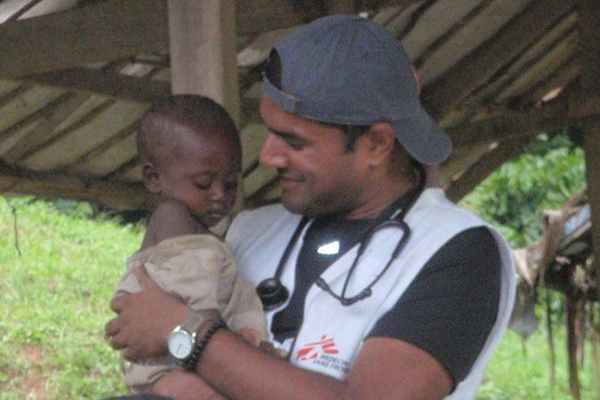 Work with Doctors Without Borders inspires, impacts 2017 alumnus