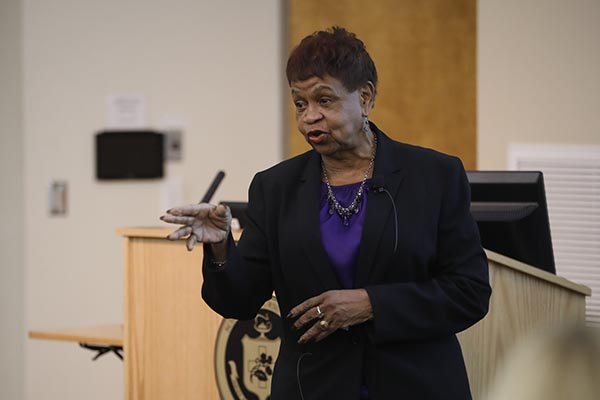 Future AARP president tells doctoral students to take risks, engage and share power