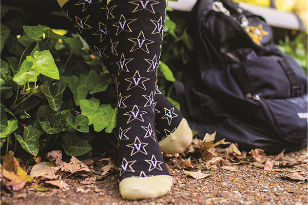 Stay warm and help VUSN this winter with Vanderbilt socks