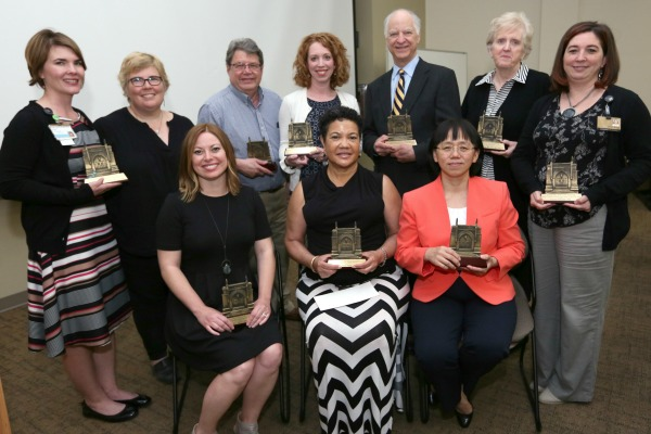 2017 School of Nursing awards recognize faculty, staff and VUSM's Bernard