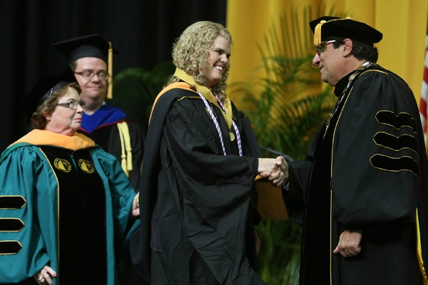 VUSN 2017 Founder's Medalist Beverly Padgett honored
