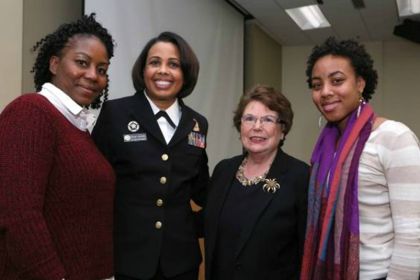 U.S. Deputy Surgeon General encourages nurses to be bold and influence public policy