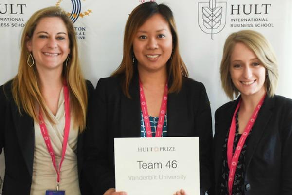 Nursing student leads Hult Prize @ Vanderbilt competition