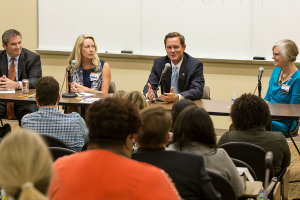Legislators encourage doctoral nursing students to share real-life impact of healthcare issues