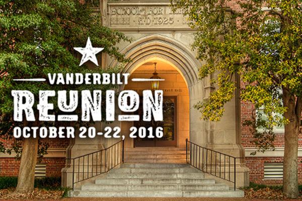Vanderbilt School of Nursing Reunion: October 20–22