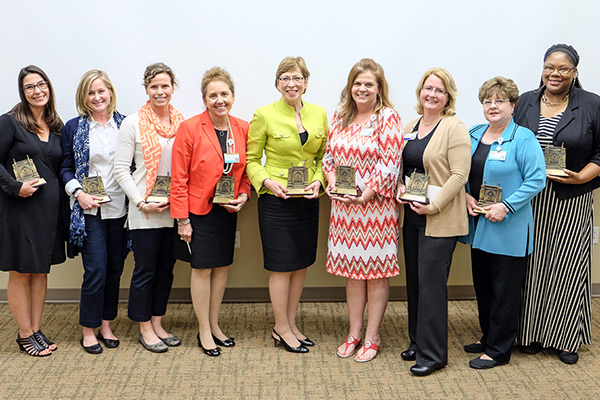 School of Nursing faculty and staff recognized with spring awards