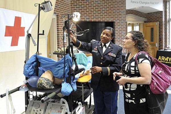 VUSN displays Army's mobile medical capabilities