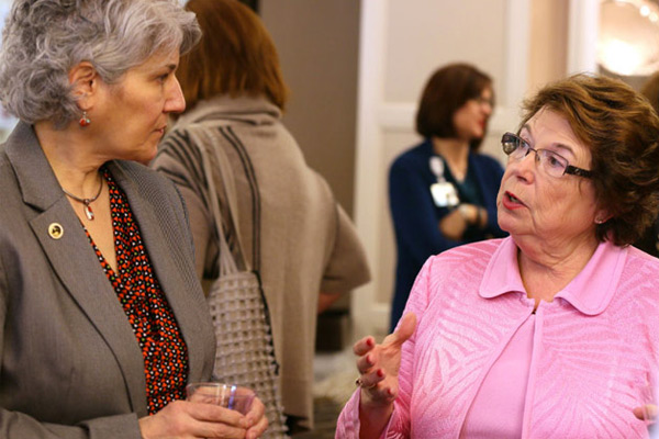 American Nurse Association president visits VUSN