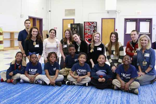 KIPP elementary students learn to manage asthma with help from VUSN students