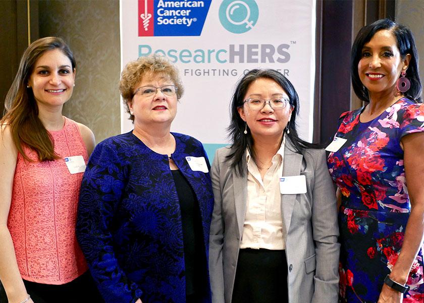 Lindsey Seldin, Sheila Ridner, Jamy Peng, Vicki Yates