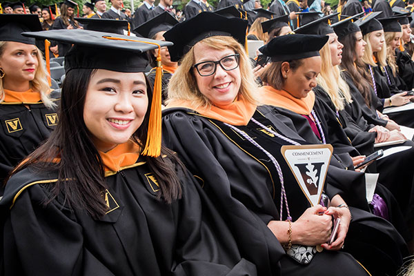 School of Nursing graduates inspire optimism about health care's future