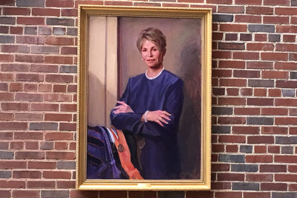School of Nursing dedicates atrium to former dean Colleen Conway-Welch