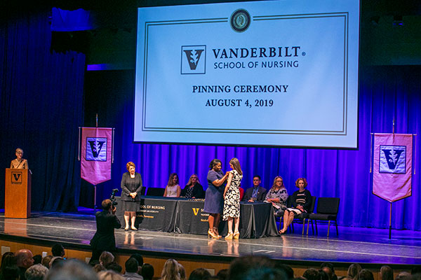 School of Nursing pinning ceremonies celebrate achievement and entry into profession