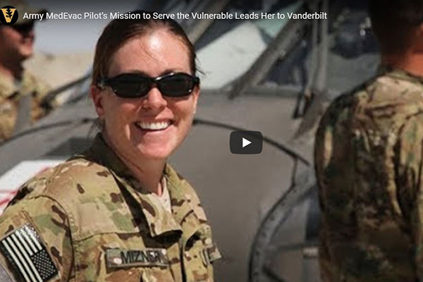 Army pilot's mission to serve the most vulnerable leads her to School of Nursing
