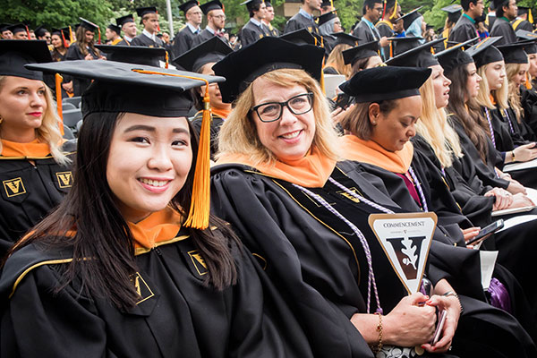Graduates inspire optimism about health care's future (News Around the School)