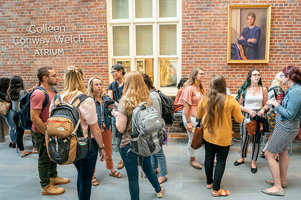 Atrium dedicated to former dean Colleen Conway-Welch (News Around the School)