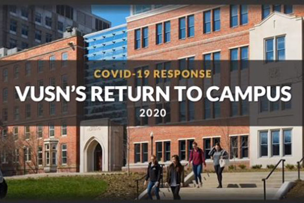 Coming to VUSN for in-person classes or work? Watch this video