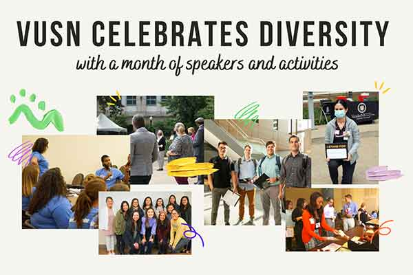 Student groups program VUSN's 2021 Diversity Month Activities