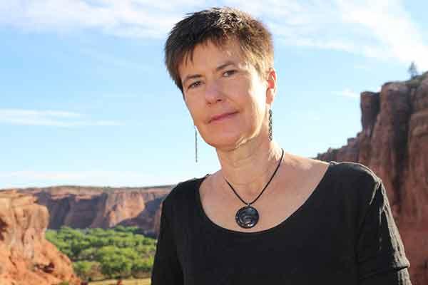 Vanderbilt School of Medicine alumna Dr. Jill Moses outside in Arizona