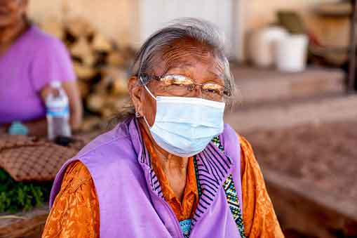 In the Thick of It: COVID fighters with the Navajo Nation