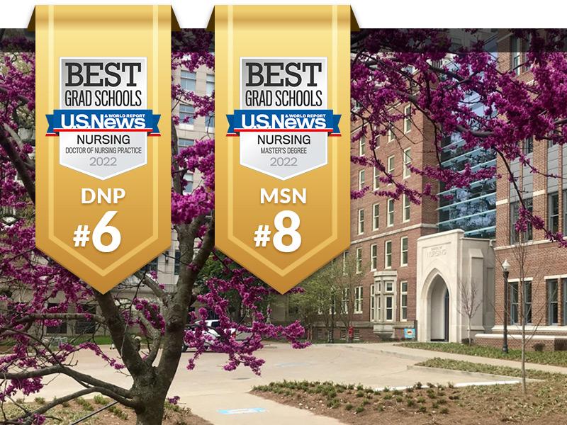 "School of Nursing among nation's best in 2022 ""U.S. News & World Report"" rankings"
