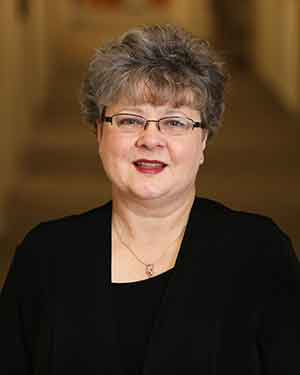 Headshot of Sheila Ridner