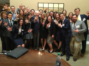 Vanderbilt Owen Graduate School of Management MBA students traveled to Omaha for an intimate Q&A session with Warren Buffett