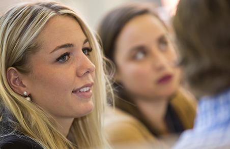 Vanderbilt Master of Marketing student, Katherine Delaney, balances school and life in Nashville.