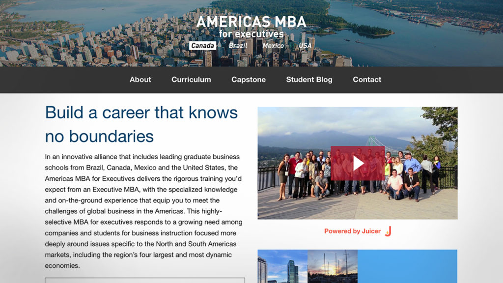 Americas MBA Homepage