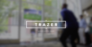 Accelerator students worked with Trazer to research potential industries for a new product.