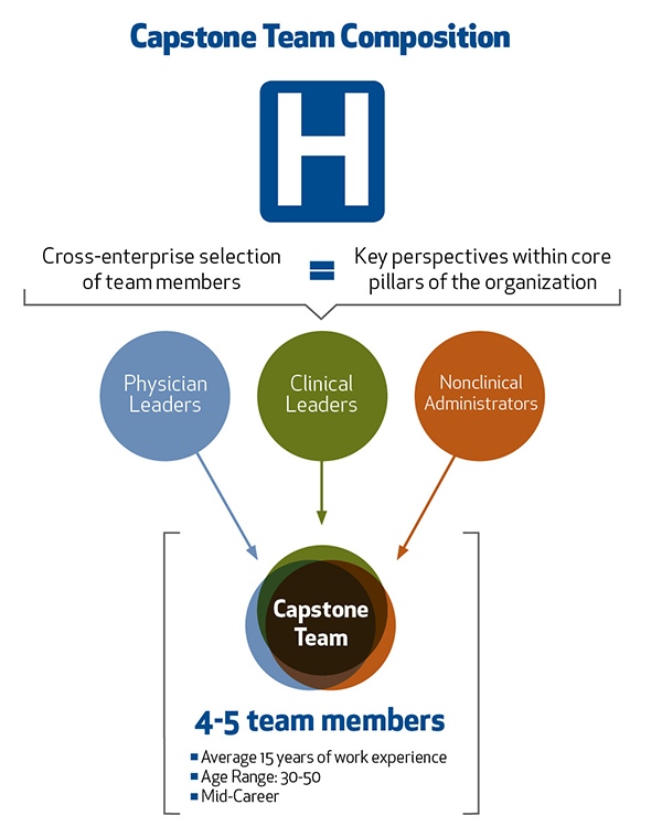 Master of Management in Healthcare team composition.